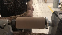 Begin Shaping the Wood Into a Cylinder