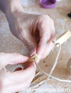 切割绳索和打结