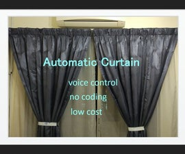 Automatic Curtain With Google Home