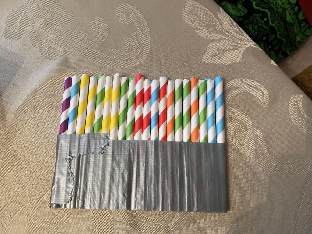 Picture of Tape the Straws Together