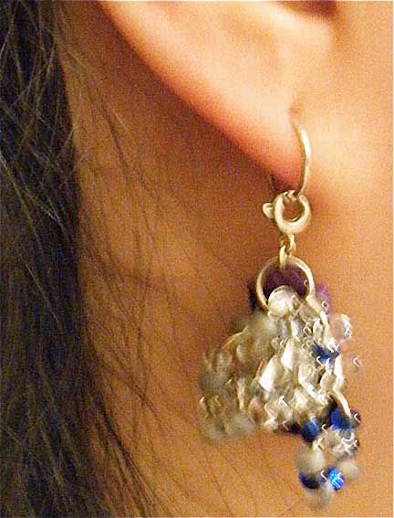Picture of Decorated Earring