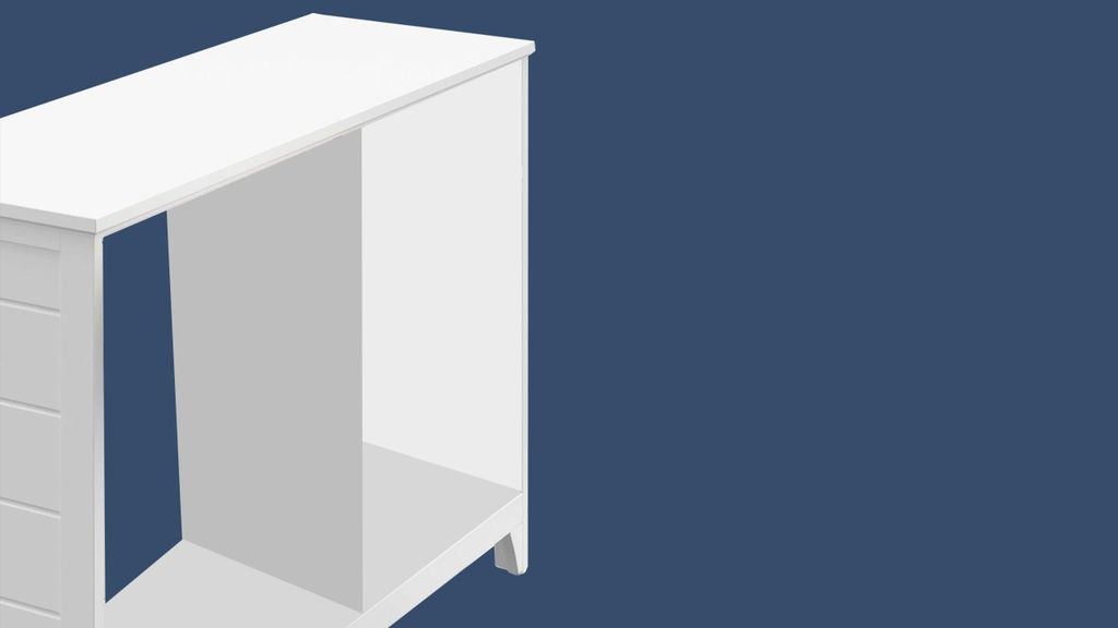 Remove the Backing of the Cabinet. If You Plan to Reuse the Same Backing, Go Slow and Careful.