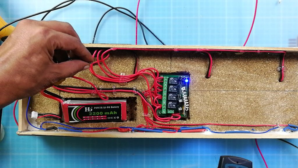 Picture of Testing the Wireless Board and Pairing the Remote
