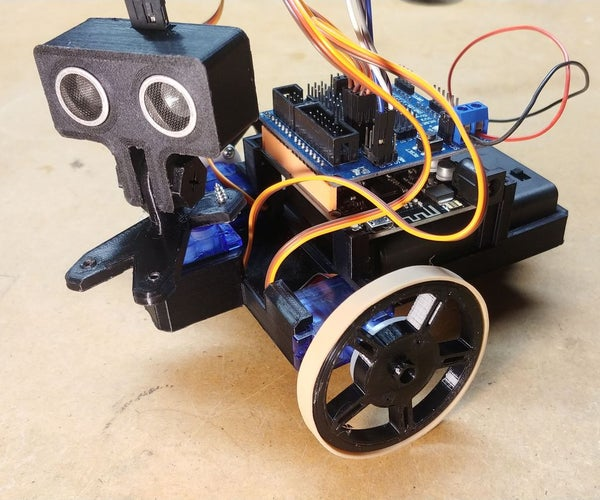 OAREE - 3D Printed - Obstacle Avoiding Robot for Engineering Education (OAREE) With Arduino