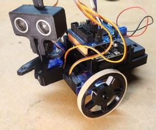 OAREE  -  3D印刷 - 实时避障机器人工程教育(OAREE)使用的Arduino