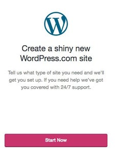 Step 1: Sign Up for a Wordpress Account