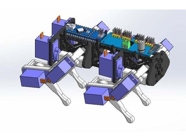 Picture of How to Create a Robotic Dog With 9G Servos