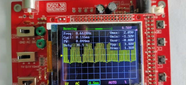 Observing the SPWM Signal