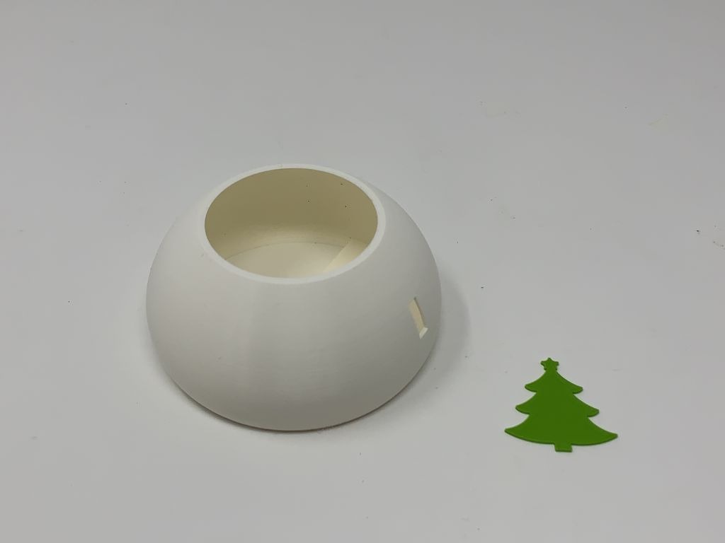 Picture of Robotic Christmas Teapot Multi-Color With Single Extrusion