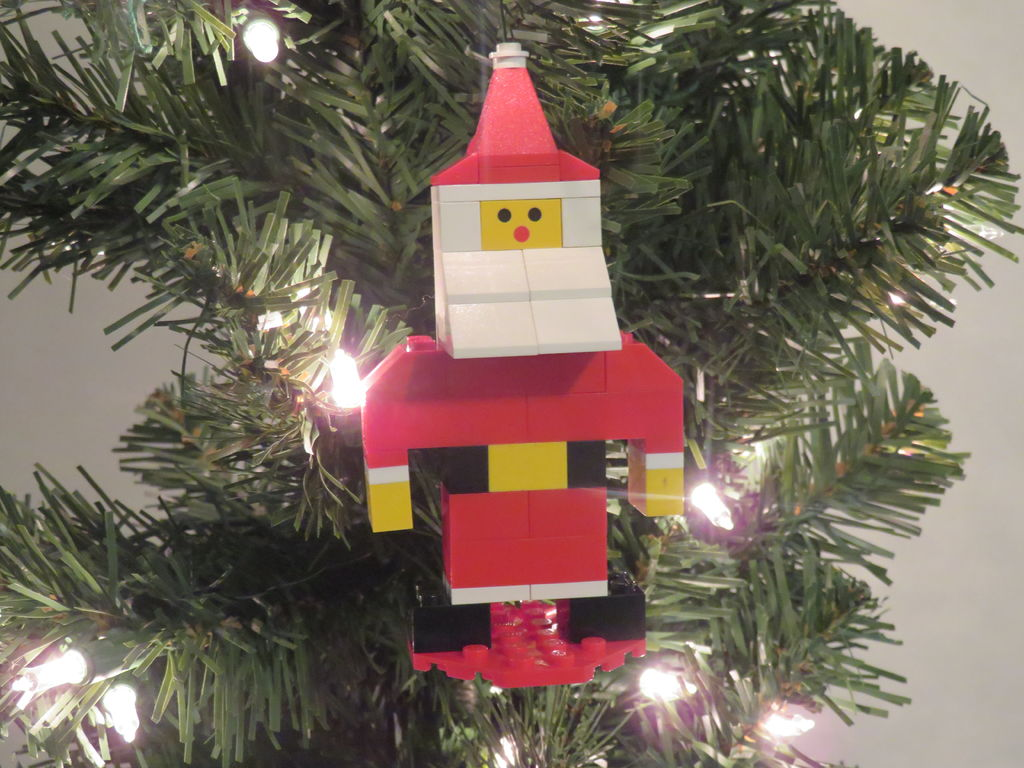 Picture of LEGO Santa Claus Ornament