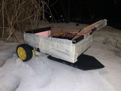 Arduino Bluetooth Ski RC Car for the Snow
