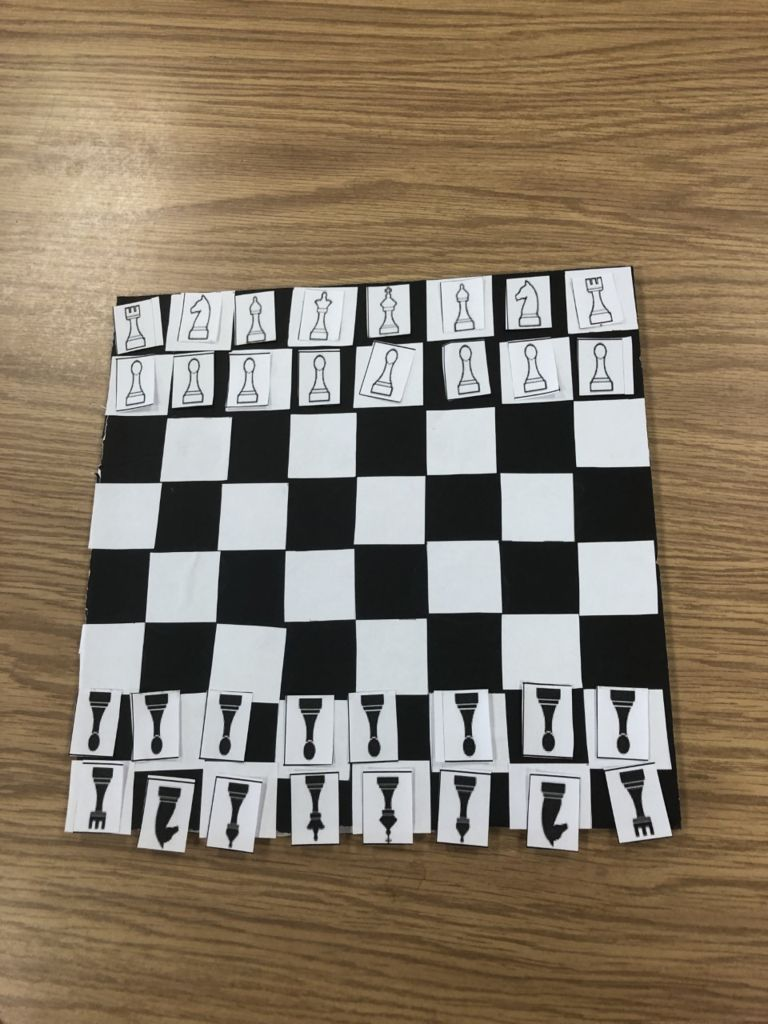Picture of Completing the Chess Board