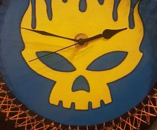 String Art Band/Logo Clock