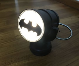 Bat Signal Night Light