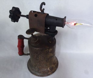 Blowtorch Flicker Lamp