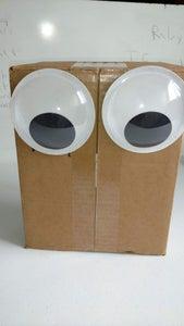 Affix Eyes to Box