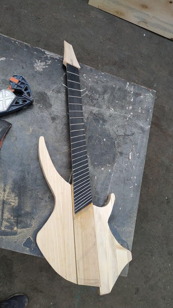 Picture of Installing Frets, True Story