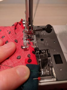 Sew the Bottom Hem