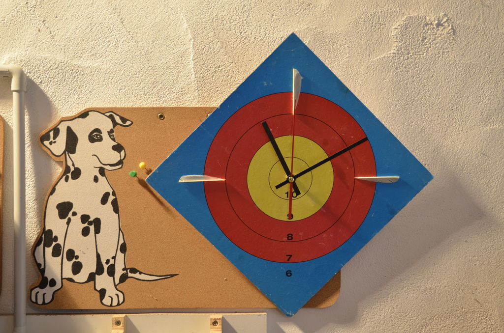 Picture of Archery Face Clock