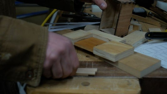 Drawer Fronts - Lasers, Magnets and Jigs