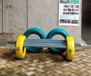 Bench on Wheels