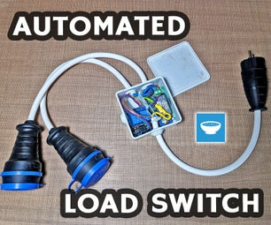 Automatic Load (Vacuum) Switch With ACS712 and Arduino