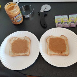 Spread a Layer of Peanut Butter on Both Slices of Bread