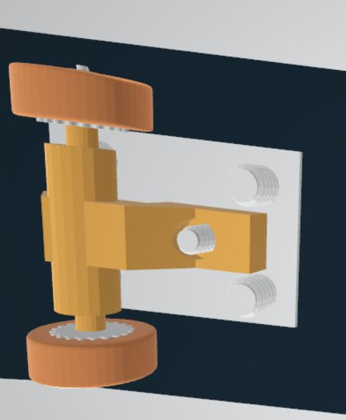 Picture of STEP2. Add Board Locks and Pulley