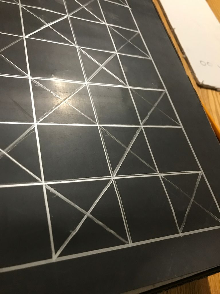 Picture of Creating the checkerboard