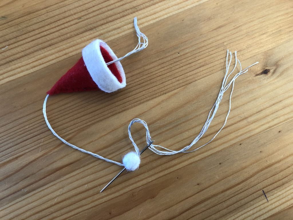 Picture of Add a Hanger to Your Santa Hat