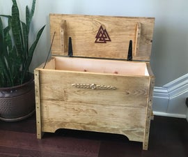 How to Build a Viking Inspired Sea Chest