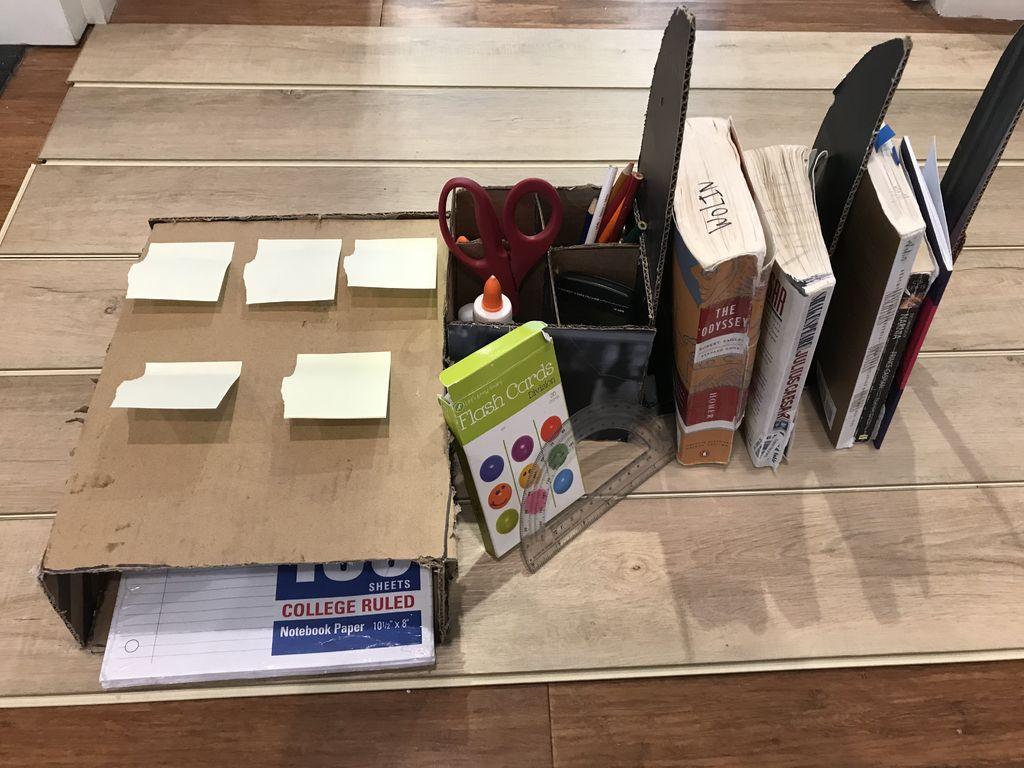 Picture of DIY Cardboard Organization Device