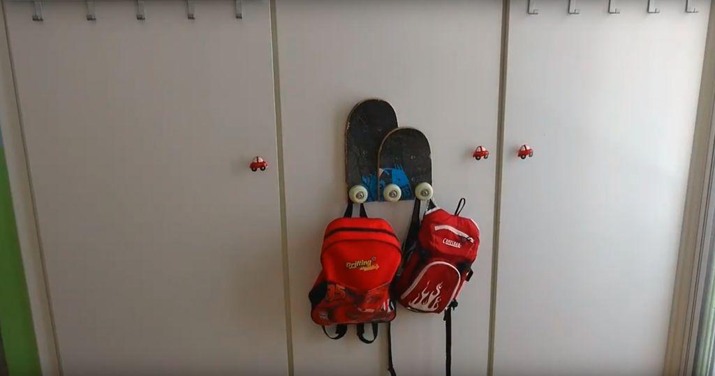 Picture of Skateboard Coat Rack