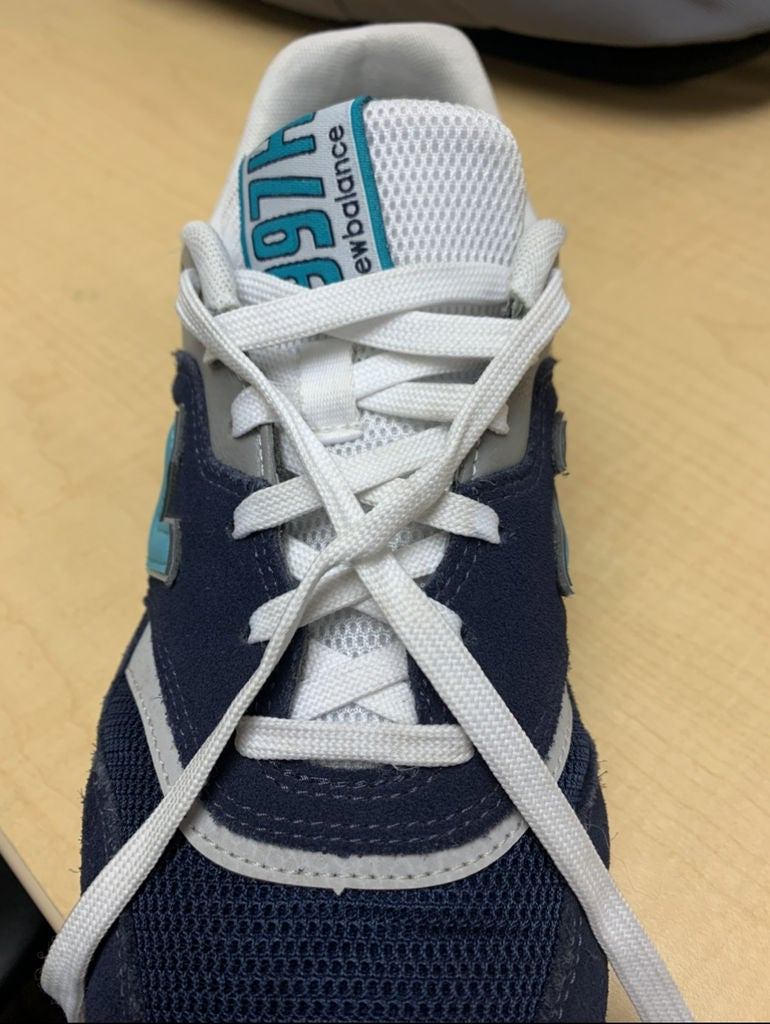 Picture of Cross the Laces