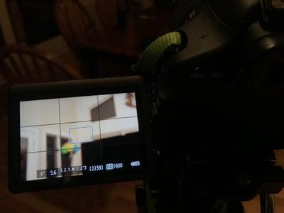 Focusing Your Camera: Live View Mode