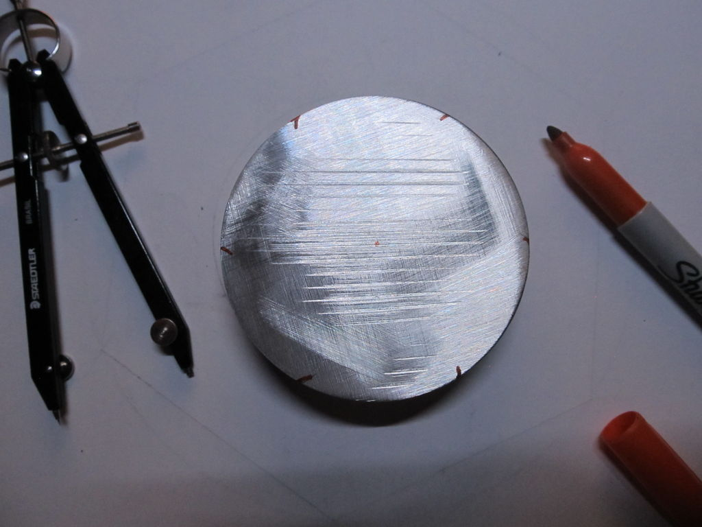 Picture of On to Creating a Nut Out of Aluminum