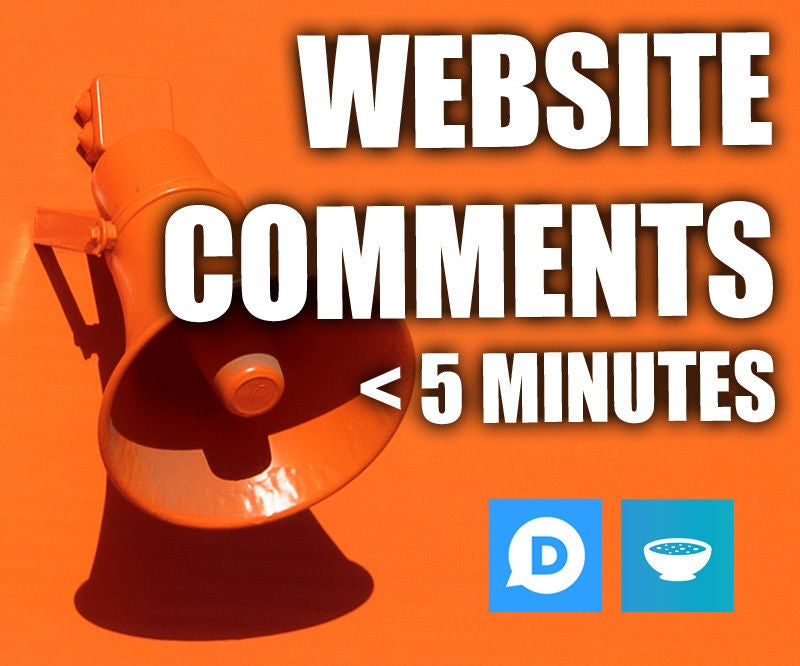 Picture of Add Comments to Any Website in Less Than 5 Minutes