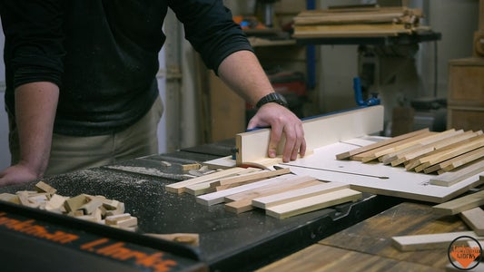 Cutting the Slats to Size