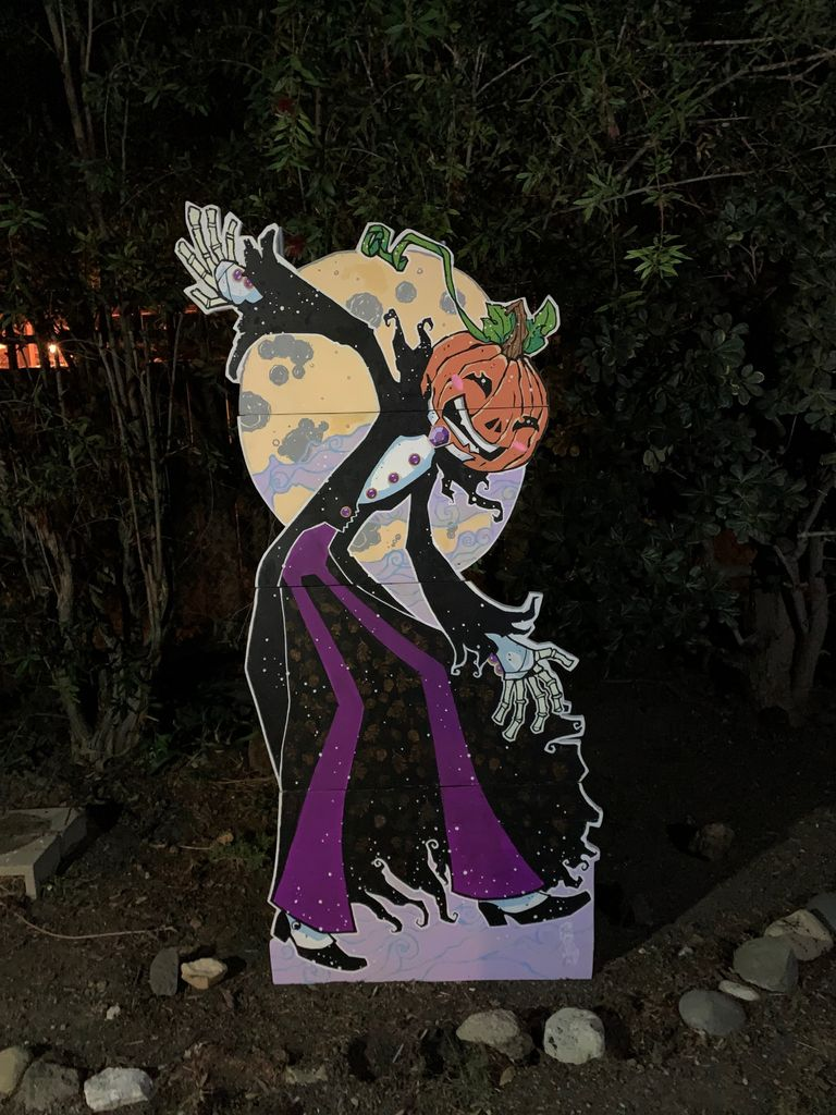Picture of TALL-O'Ween: BIG Yard Art From Scrap Plywood