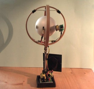 Continuously Rotating Solar Motor