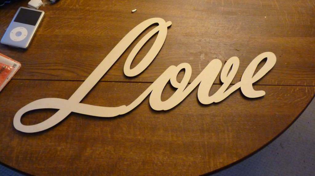Picture of Easy Shabby Chic Letters
