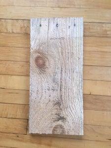 Preparing the Wood