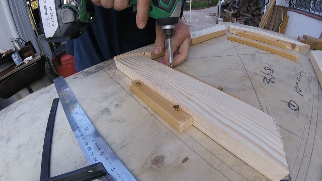 Picture of Legs Structure Build