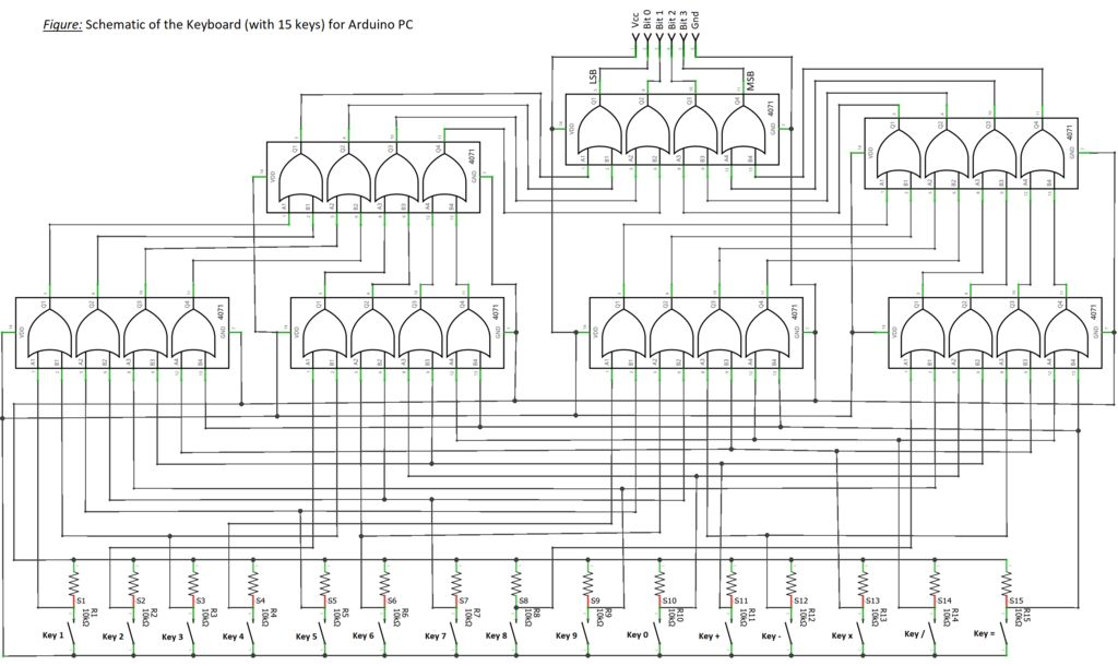 Picture of Designing the Keyboard Circuit
