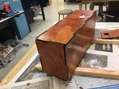 Finish and Stain Box