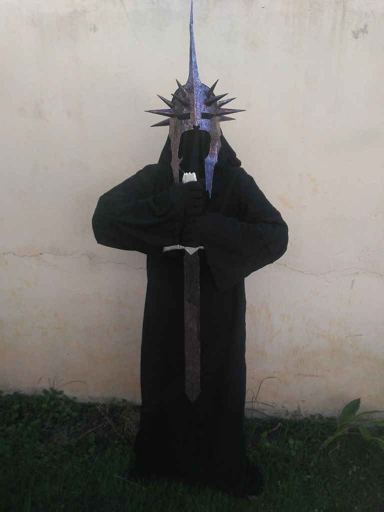 Picture of Easy LOTR Witch King Costume From Scratch