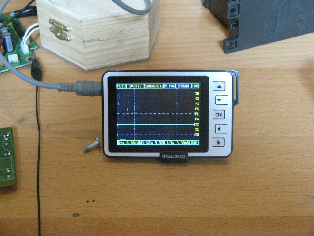 Picture of Oscilloscope Test