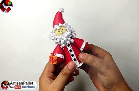 Quilling Santa