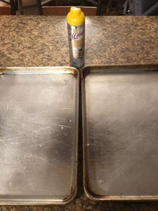 Spray Pans With Cooking Spray