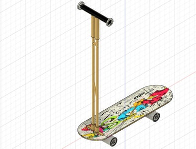 A Removable Dual-use Scooter